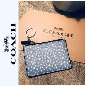 🆕 Coach Mini keychain wallet/ Id holder